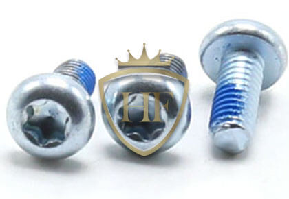 Blue White Zinc Torx Pan Head Machine Screws